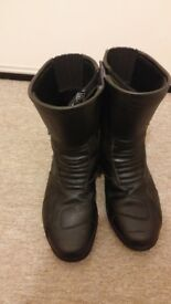 Leather Boots Size 10, Waterproof, Black - Spada Seeker