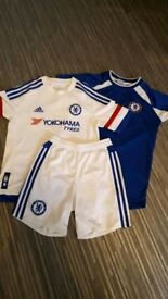 Boys chelsea kit age 11/12 shorts are 9/10