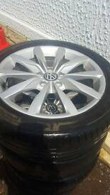 4 vals wagon alloys for sale 400 contact lisa on 07491361940