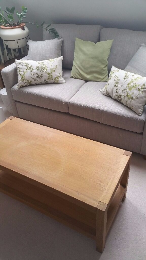 laura ashley bromley oak coffee table (used) | in croydon, london