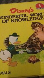 Disneys wonderful world of knowledge books vol.1 to vol.25 all books are there