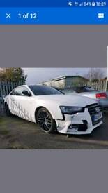 2016/66 AUDI A5 S-LINE S TRONIC QUATTRO BLACK EDITION PLUS DAMAGED SALVAGE