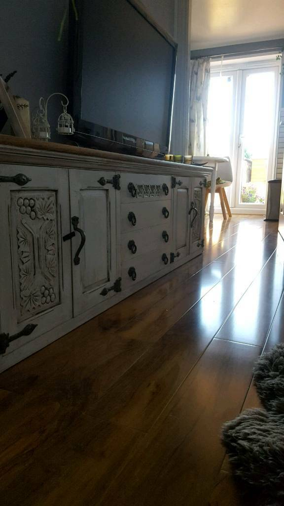 Antique sideboard/tv stand
