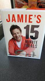 Jamie Oliver 15 minute meals as new never opened