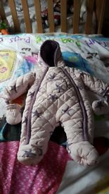 Mamas and papas Newborn snow suit