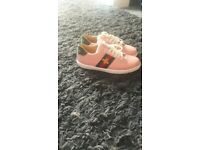 Gucci traniers worn once size 4