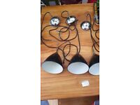 GUBI set of 3 lamp - new condition