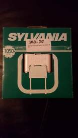 Sylvania Lynx QE Bulb. White. 16w £6.00 each. 2 available