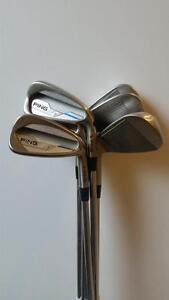 RH PING iE Steel Red Dot Stiff Irons 4-PW