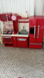 Our Generation red gourmet kitchen