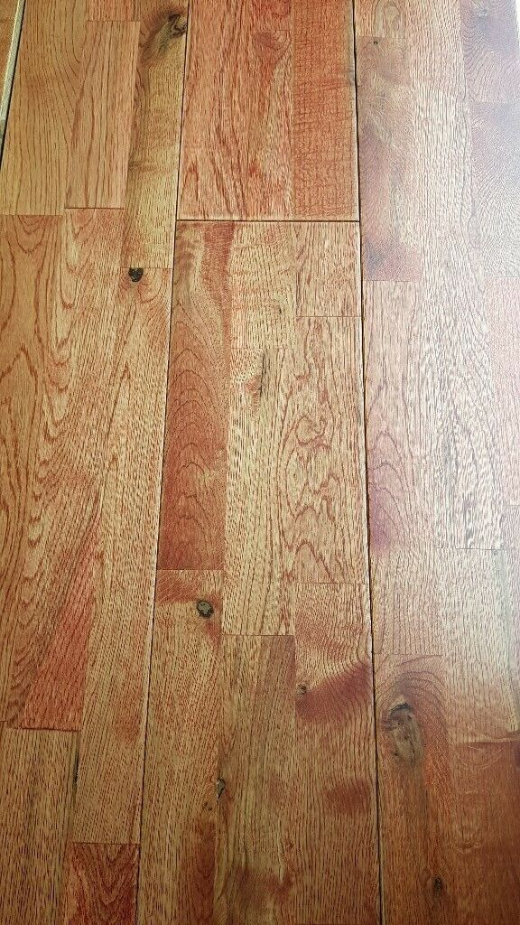X50 Rustic Oak 3 Strip Engineered Real Wood Flooring Cheapest In