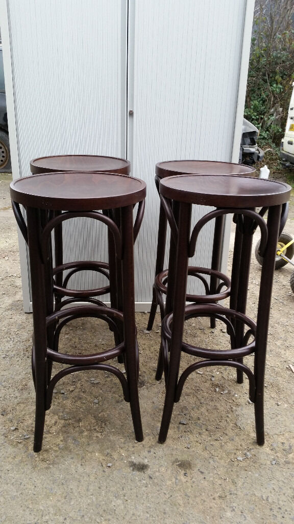4 high bentwood stools .newryin Newry, County DownGumtree - 4 high bentwood stools .H 78 cm.25 each or 4 for 80 pound.they like brand new.each cost minimum 60 pound