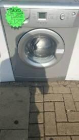 BEKO 7KG LOAD 1400 SPIN WASHING MACHINE IN SILVER