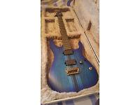 Ibanez Iron Label RGIT20FE Saffire Blue Flat with Hard Case