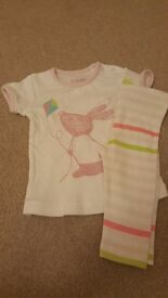 FCUK Baby Girls Outfit 3-6 months
