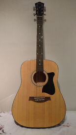 Ibanez Acoustic Guitar For Sale. Available with cover and accessories. For Beginners. £50 or ONO