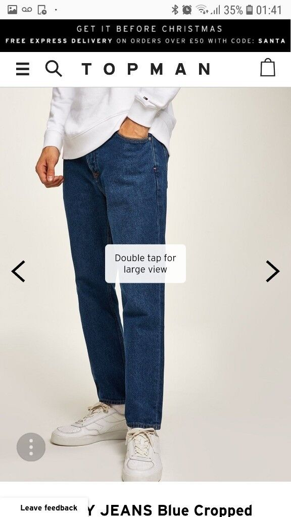 14feb092f75 Description. I am selling 2 Pairs of Mens Tommy Hilfiger Jeans ...