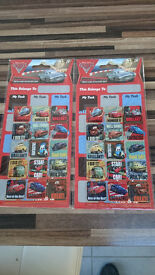 2 x Lightening McQueen reusable reward sticker sets, new and sealed, free