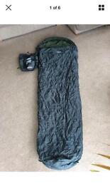 Gelert single cocoon sleeping bag festivals camping