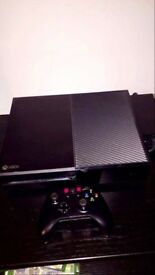 500GB Xbox one with wireless controller. Comes with Fifa 18 and Shadow of Mordor