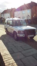 Landd rover td5 7 seater