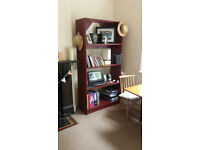 Bookcase available due to moving home FREE