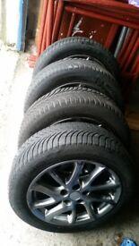 17'' alu wheels michelin alpha 5 winter tyres