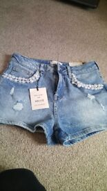 river island shorts new with tags newlook sandles new with tags