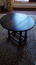 Period folding coffee table