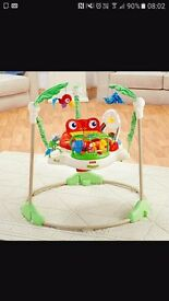 Fisher price jumperoo as new