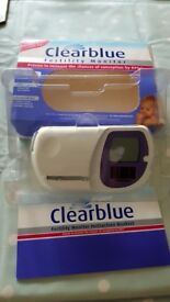Clear blue Digital Fertility Monitor - perfect condition