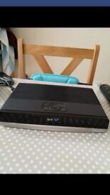 BT Youview+ Set Top Box 500gb. Recorder with Twin HD Freeview