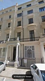 Stylish Two Double (1 en-suite) Apartment To Let in this stucco-fronted terrace period building W2