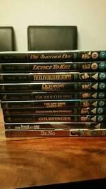 James Bond dvds - £3 each or £20 as job lot