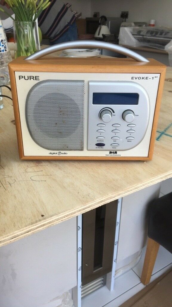 Pure digital evoke 1xt radio