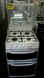 CANNON 55CM GAS DOUBLE OVEN COOKER