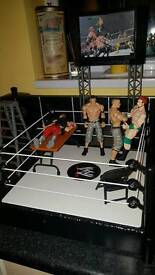 Wrestling figures and accessories