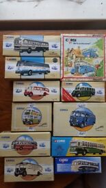 Collection of Diecast Buses