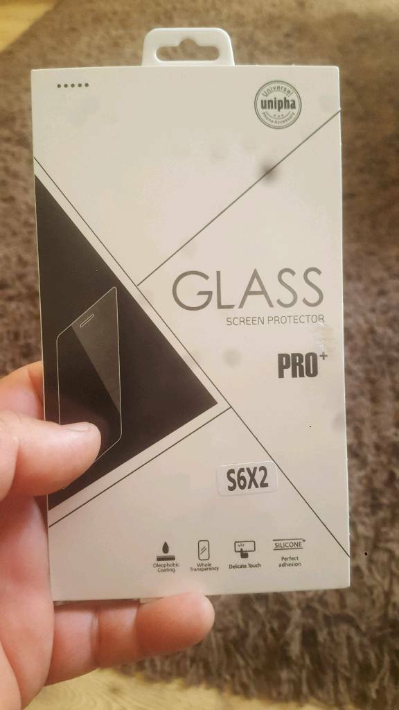 Two Premium tempered glass for s6