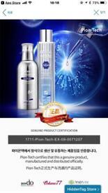 Korean cosmetics sales.