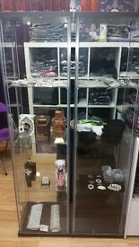 Shop glass display cabinet