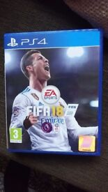 Fifa 18 Unopened for PS4