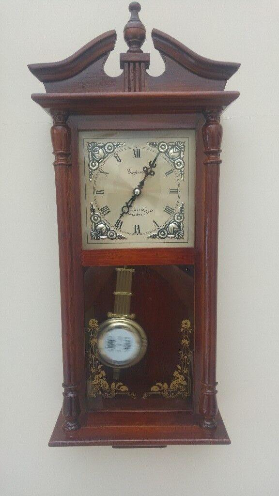9dfecd20e11c emperor Westminster chime quartz wall clock   in Ipswich, Suffolk ...