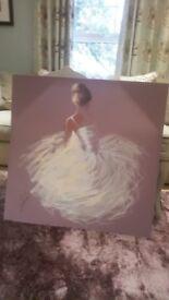 Next Purple Canvas - Ballerina