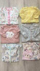 Newborn next sleep suits