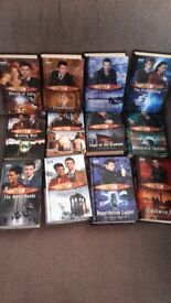 Dr Who hardback book set.