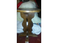Wooden Bar table - round