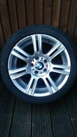 """BMW E90/E91 GENUINE 17"""" WHEELS"""