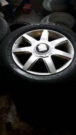 Alloy wheels seat vw