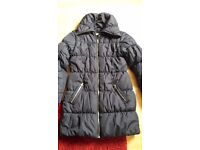 H & M girls winter coat